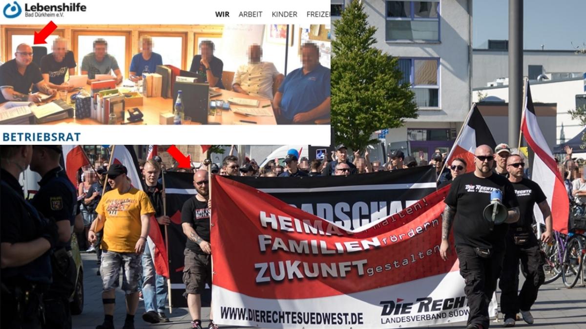 Lebenshilfe Bad Dürkheim beschäftigt in der Kameradschaftsszene aktiven Neonazi